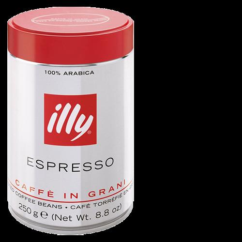 illy Espresso tincan coffee beans 250g x12