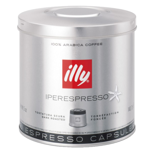 illy Iperespresso dark roast coffee capsules 21pcs