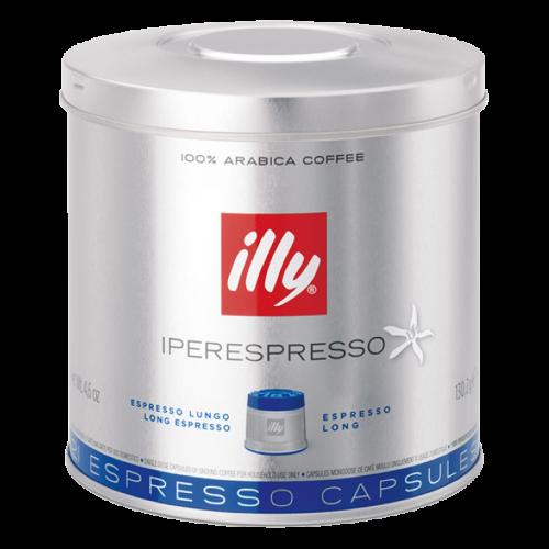 illy Iperespresso lungo coffee capsules 21pcs