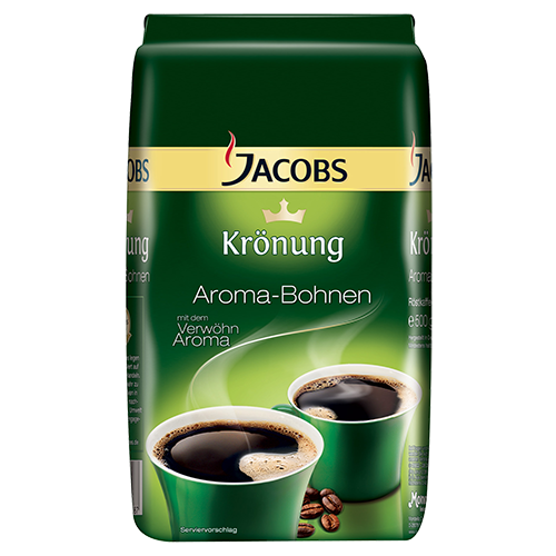 Jacobs Krönung Aroma coffee beans 500g expired date