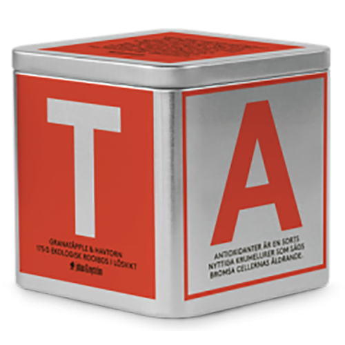johan & nyström T-Te Pomegranate & Sea Buckthorn Organic Rooibos Tea loose weight 175g