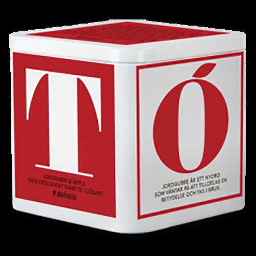 Johan & Nyström T-Tea Strawberry & Apple Organic black tea in loose weight 150g