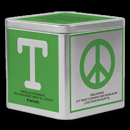 Johan & Nyström T-Te Peach & Lemongrass Organic Green Tea in Loose weight 175g