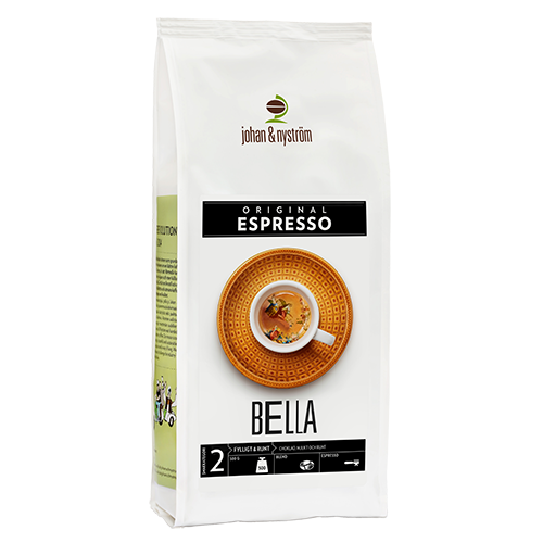 johan & nyström Espresso Bella coffee beans 500g