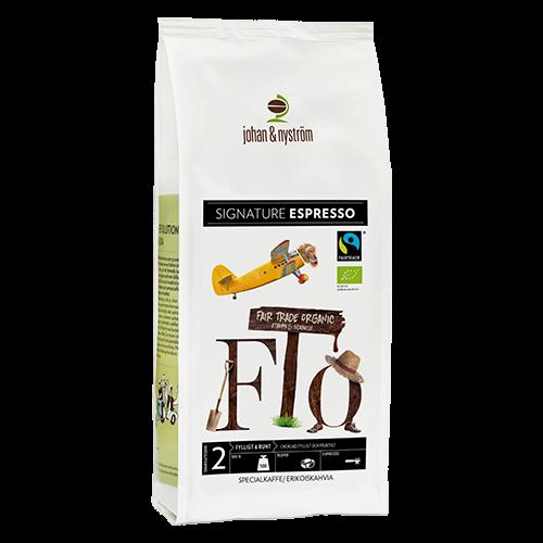 johan & nyström Espresso F.T.O coffee beans 500g