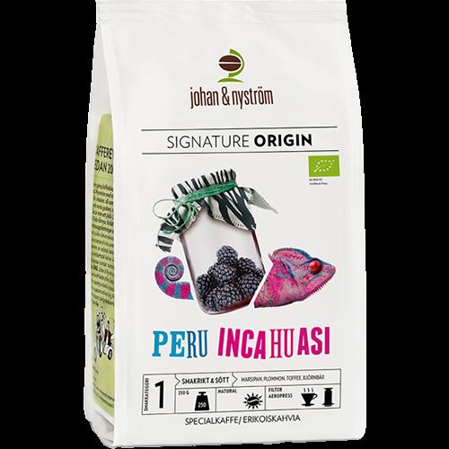 johan & nyström Peru Inchuasi coffee beans 250g