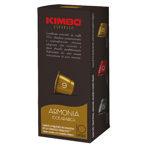 Kimbo Armonia coffee capsules for Nespresso 10pcs