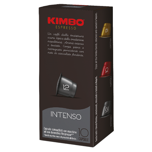Kimbo Intenso Nespresso coffee capsules 10pcs