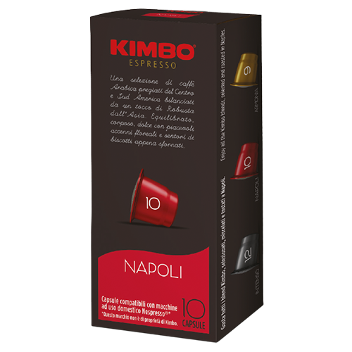 Kimbo Napoli Nespresso coffee capsules 10pcs