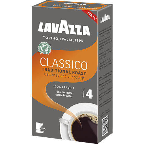 Lavazza Classico ground filter coffee 500g