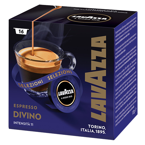 Lavazza A Modo Mio Espresso Divino coffee capsules 16pcs expired date