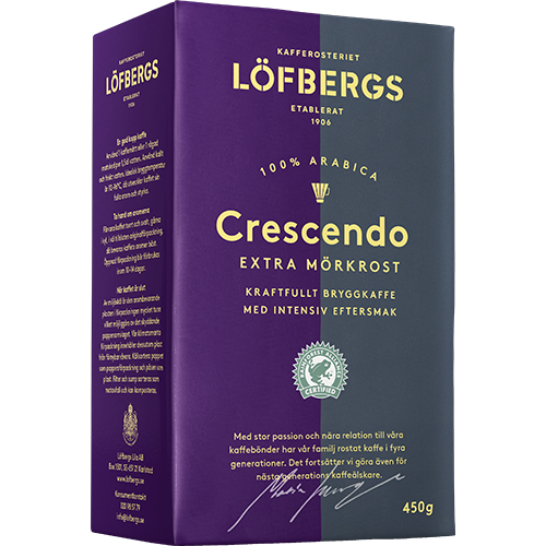 Löfbergs Lila Crescendo ground coffee 450g