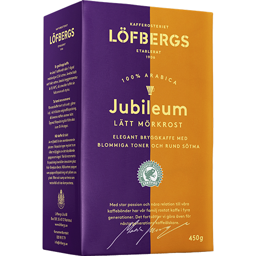 Löfbergs Lila Jubileum ground coffee 450g