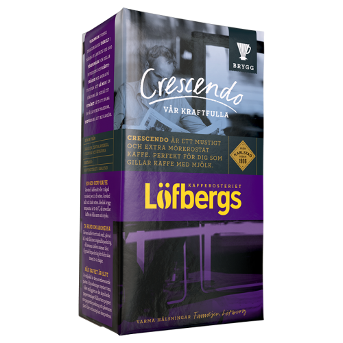 Löfbergs Lila Crescendo ground coffee 500g