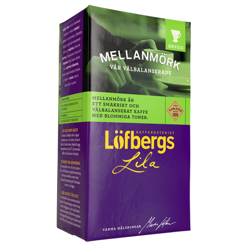 Löfbergs Lila Mellanmörk ground coffee 500g