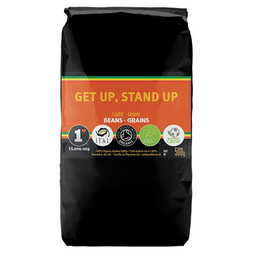 Marley Coffee Get Up, Stand Up coffee beans 500g