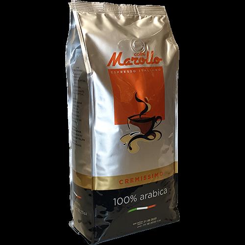Caffè Marollo Cremissimo 100% Arabica coffee beans 1000g