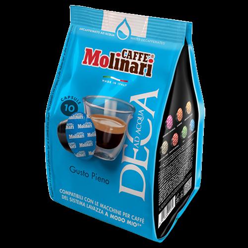 Molinari Deca A Modo Mio coffee capsules 10pcs