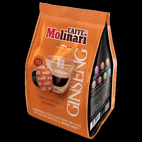 Molinari Ginseng A Modo Mio coffee capsules 10pcs