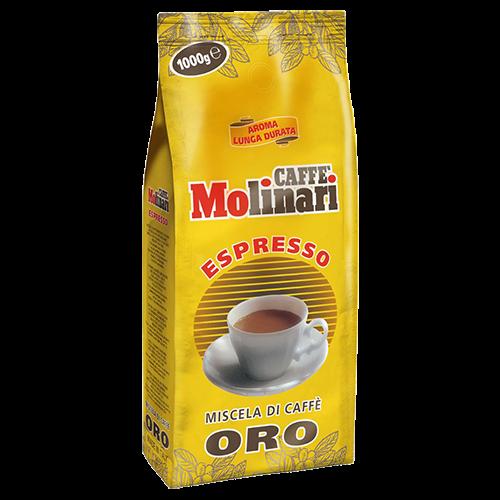 Molinari Oro coffee beans 1000g