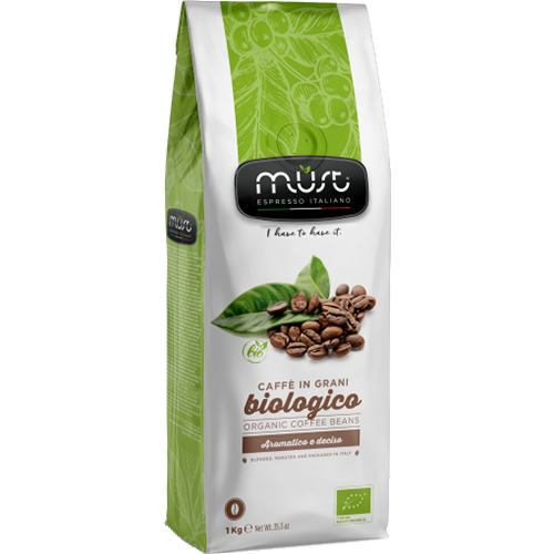 Must Biologico coffee beans 1000g