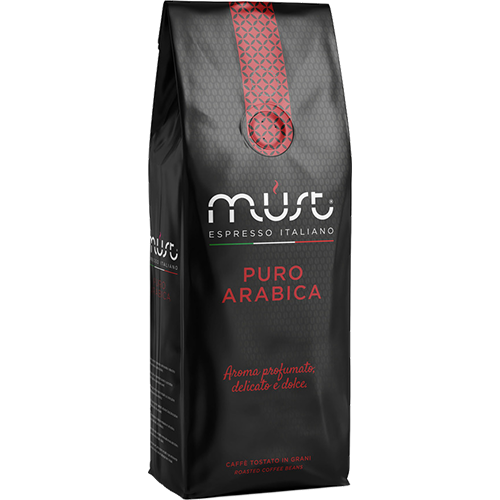 Must Puro Arabica coffee beans 1000g
