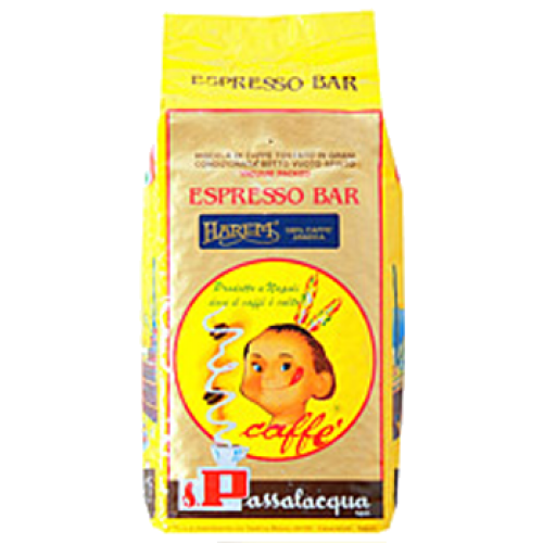 Passalacqua Harem 100% Arabica coffee beans 1000g
