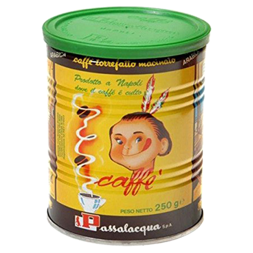 Passalacqua Mekico 100% Arabica tincan ground coffee 250g
