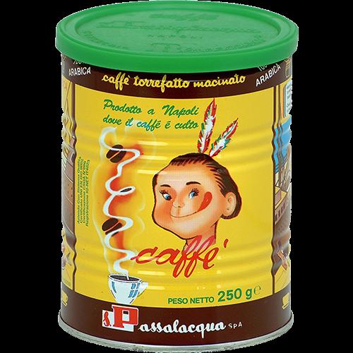 Passalacqua Mekico 100% Arabica tincan ground coffee 250g