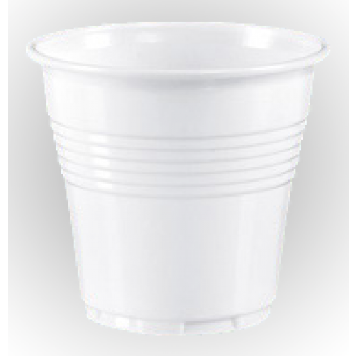 Plastic cup for espresso 8cl 50pcs