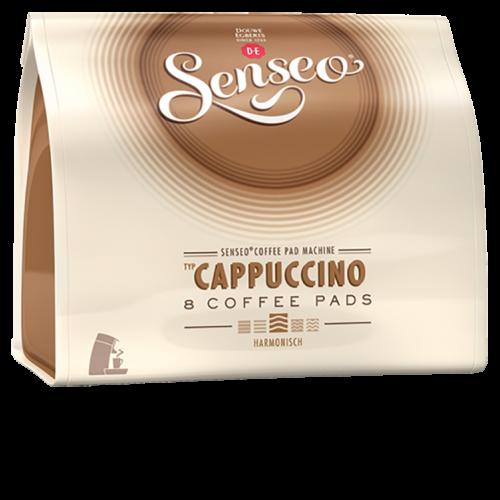 Senseo Cappuccino kaffepads 8pcs x10