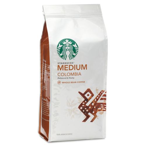 Starbucks Coffee Colombia coffee beans 250g