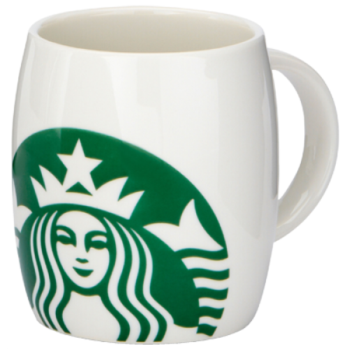 Starbucks Coffee new logo mug 237ml (8fl oz)