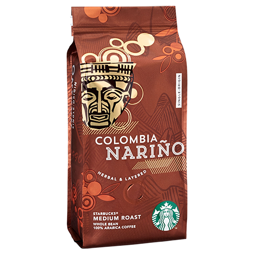 Starbucks Coffee Colombia Nariño coffee beans 250g expired date