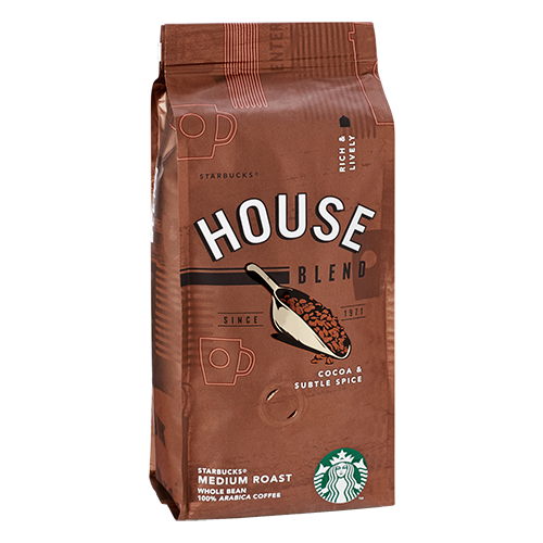 Starbucks Coffee House Blend coffee beans 250g