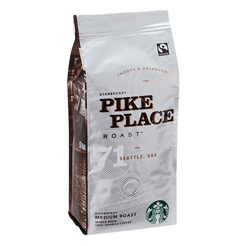 Starbucks Coffee Pike Place Roast coffee beans 250g