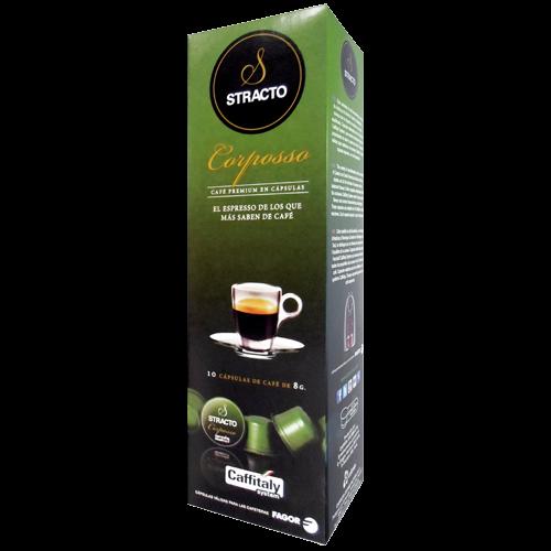 Stracto Corposso Caffitaly coffee capsules 10pcs expire soon