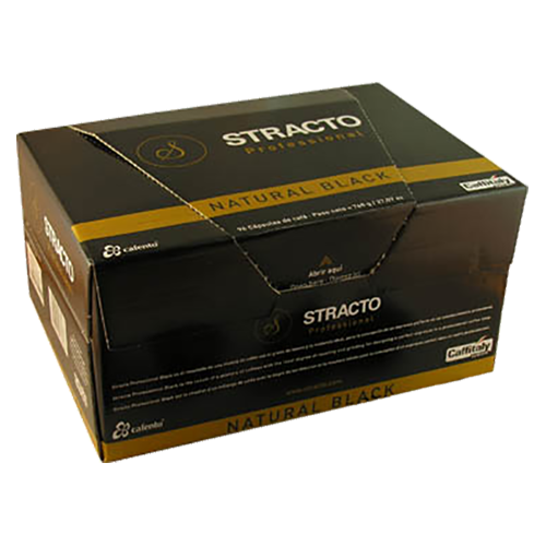 Stracto Professional Natural Black Caffitaly coffee capsules 96pcs