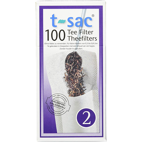t-sac tea filter no:2 100pcs