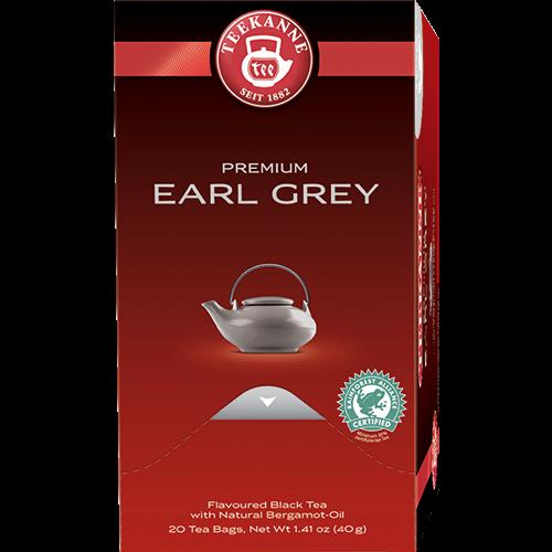 Teekanne Premium Earl Grey tea bags 20pcs