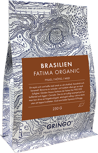 Gringo Brasilien Fatima Eco coffee beans 250g