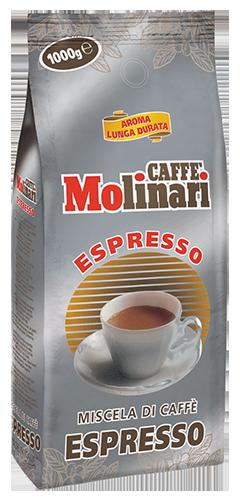 Molinari Espresso coffee beans
