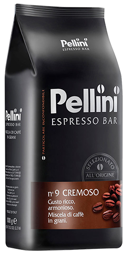 Pellini No9 Cremoso coffee beans