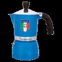 Bialetti Fiammetta Espresso Coffee Maker 3 cups forza italia