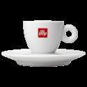 illy espresso cup (inc saucer) 6cl 1pcs