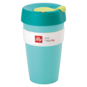 illy live happilly KeepCup coffee cup green 454ml