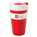 illy live happilly KeepCup coffee cup red 454ml