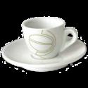 johan & nyström espresso cups (inc saucer) 6pcs
