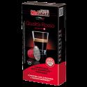 Molinari itespresso Qualità Rosso coffee capsules for Nespresso 10pcs