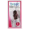 t-sac tea filter no:1 100pcs